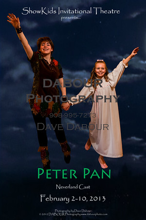 Peter Pan (Verland Cast) and Jane go flying