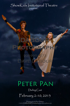 Peter Pan (Darling Cast) and Jane go flying!