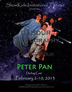 Peter Pan (Darling Cast) takes the kids flying!
