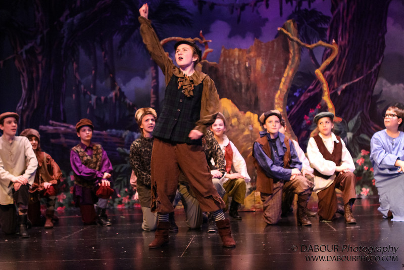 """Tech Wednesday rehearsal photos of SKIT's upcoming """"Peter Pan"""" Neverland Cast"""