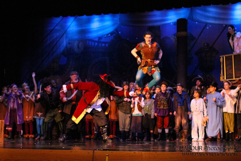 "Tech Wednesday rehearsal photos of SKIT's upcoming ""Peter Pan"" Neverland Cast"