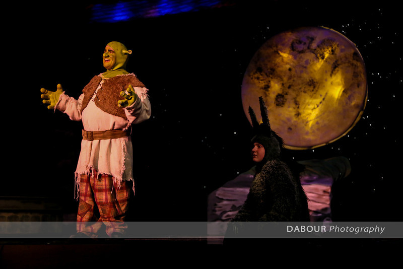 Shrek Rehearsal - tech Wed