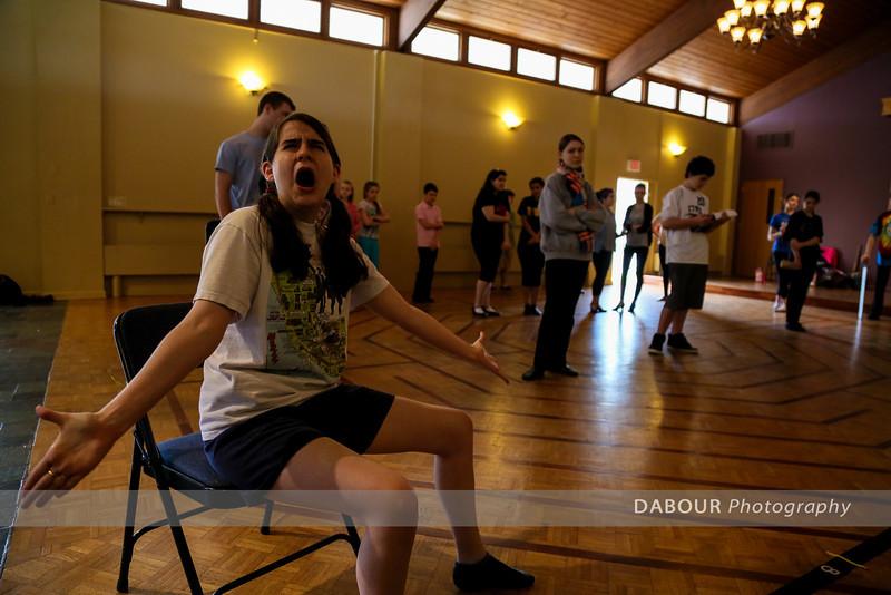 Shrek Rehearsal