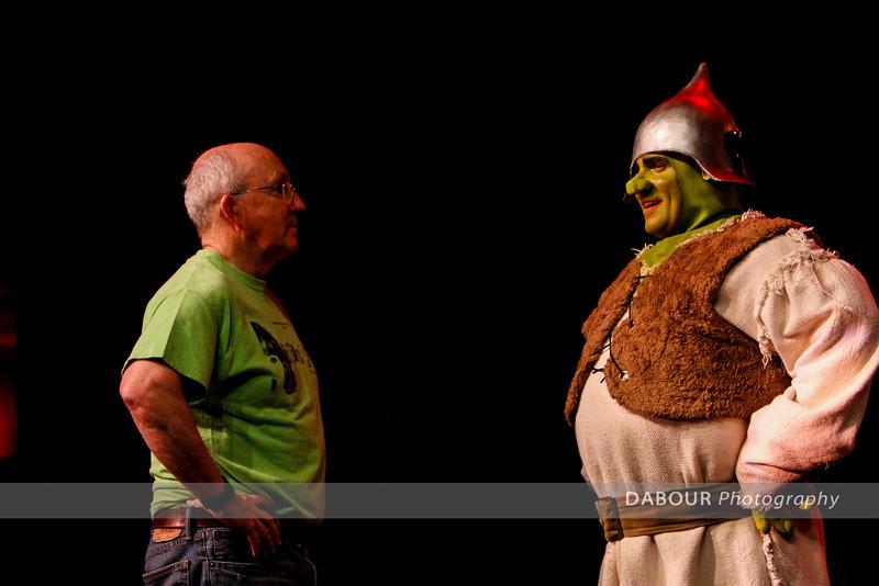 Shrek Rehearsal - tech Wed