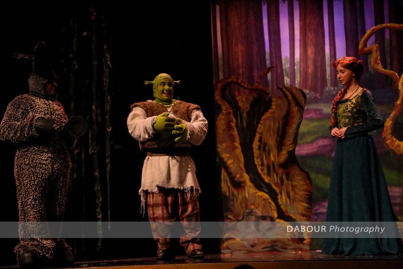 Shrek Opening Performance