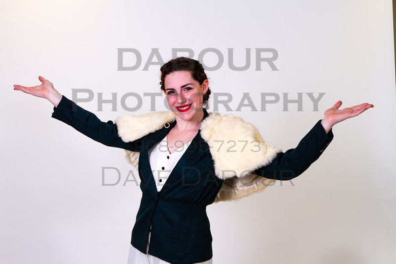 """Brianna Zielinski as Muzzy Van H in SKIT's upcoming """"Thoroughly Modern Millie."""" Photo by DAVE DABOUR"""