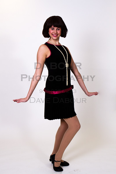 "Lauren Fivek as Millie  poses for a photo for SKIT's upcoming ""Thoroughly Modern Millie."" Photo by DAVE DABOUR"