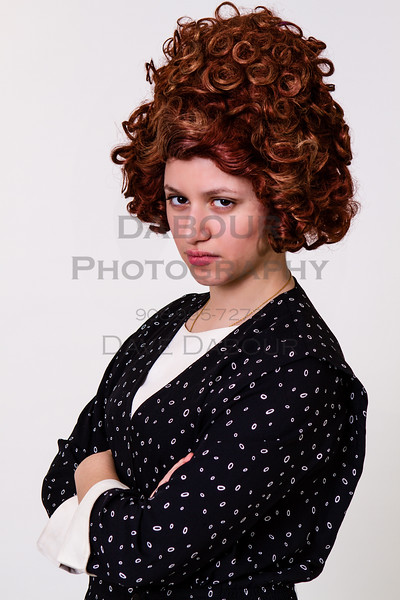 """Dawn Cimilluca as Miss Flannery in SKIT's upcoming """"Thoroughly Modern Millie."""" Photo by DAVE DABOUR"""
