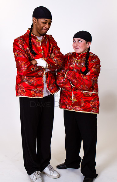 """Ben Izlar as Ching Ho and Andrew Plinio as Bun Foo in SKIT's upcoming """"Thoroughly Modern Millie"""" Photo by DAVE DABOUR"""