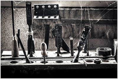 Abandoned workbench