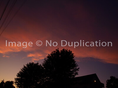 September 2, 2011. . . above my neighborhood.