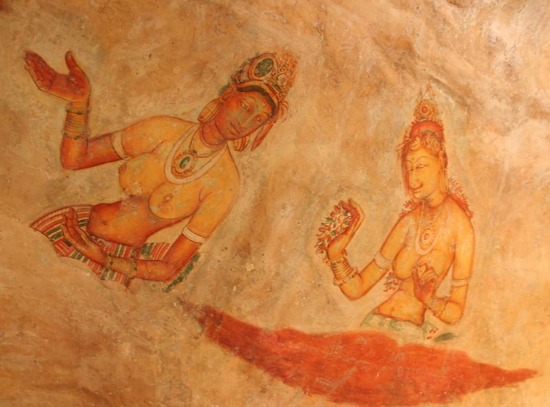 Sigiriya frescoes1460