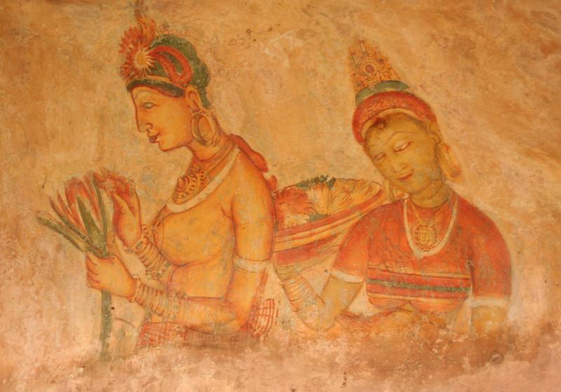 Sigiriya frescoe1458