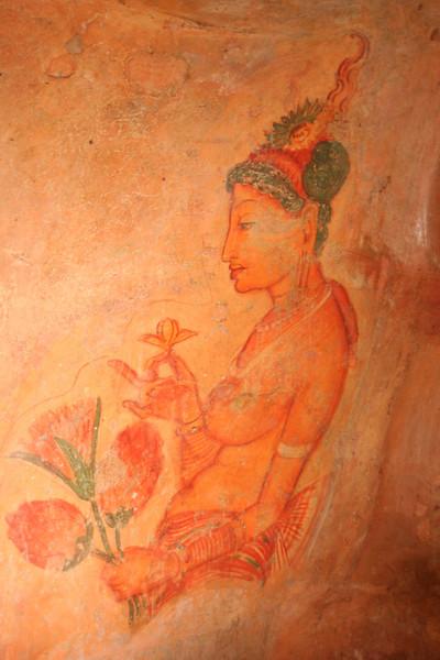 Sigiriya frescoe457