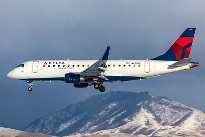 SkyWest Airlines Embraer ERJ-170-200LR N260SY 12-12-20