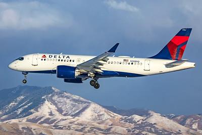 Delta Air Lines Airbus A220-100 N108DQ 12-12-20