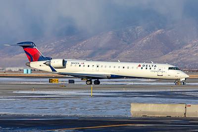 SkyWest Airlines Bombardier CL-600-2C10 CRJ-701ER N641CA 12-12-20 2