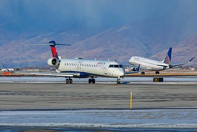 SkyWest Airlines Bombardier CL-600-2D24 CRJ-900LR N554CA 12-12-20