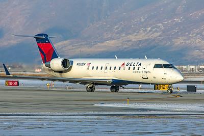 SkyWest Airlines Bombardier CL-600-2B19 CRJ-200ER N923EV 12-12-20 2