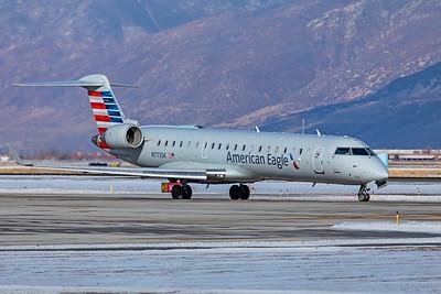 SkyWest Airlines Bombardier CL-600-2C10 CRJ-701ER N773SK 12-12-20