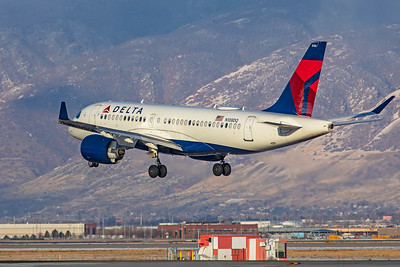 Delta Air Lines Airbus A220-100 N108DQ 12-12-20 2