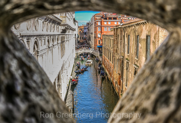 Venice through the portal