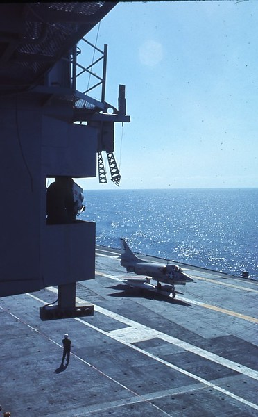 A-4 On Deck After Recovery