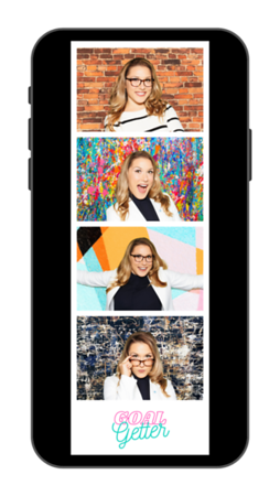 Allison Headshots Insta Story Photo Strip 2x6 on Iphone