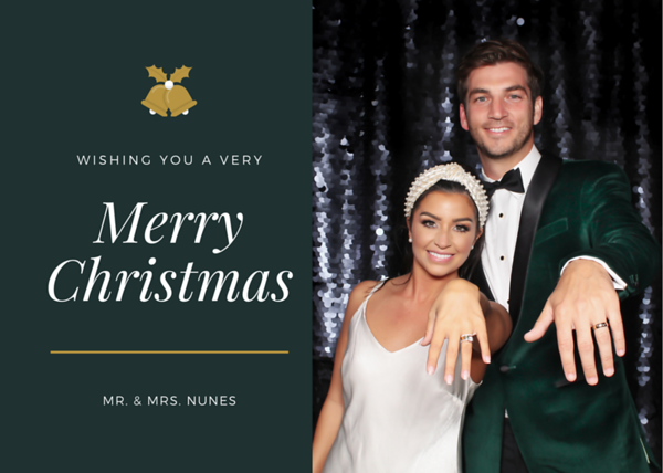 Mr. & Mrs. Nunes Christmas Card