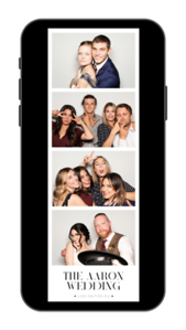 Demi & Josh Color Insta Story Photo Strip 2x6 on Iphone