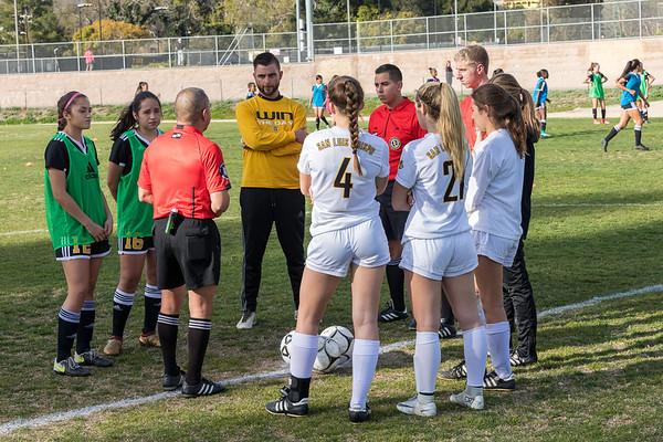 SLOHS Varsity Girls Soccer 2018