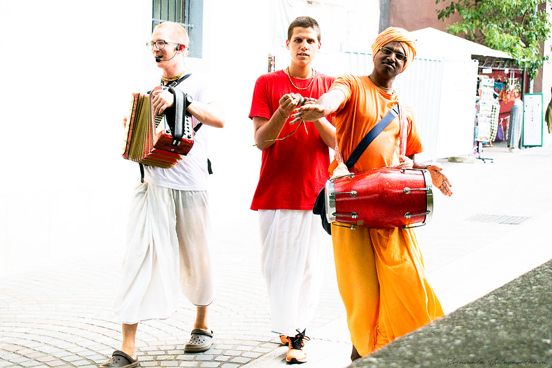 Hare Rama, Hare Krishna - alive and well in Ljubljana