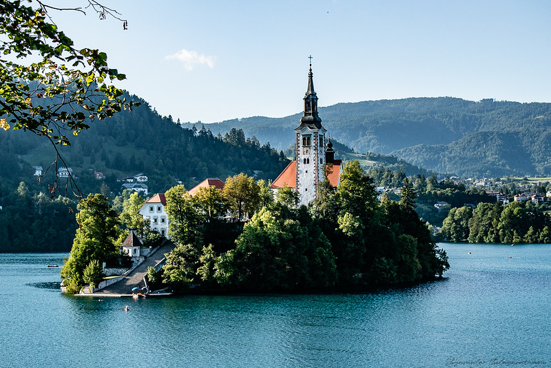 Bled Island and the Church of Mary