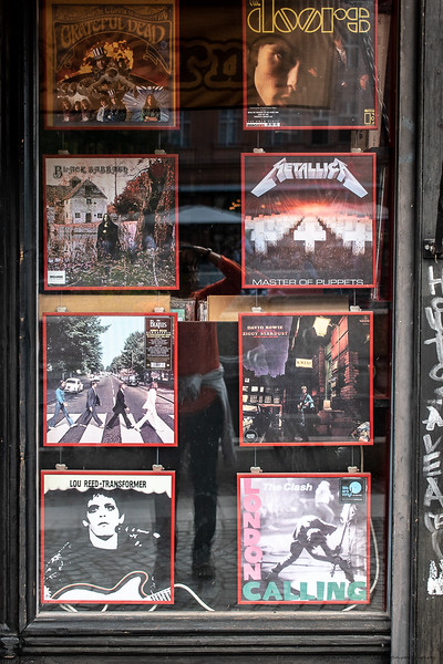 Eclectic window shopping in Ljubljana
