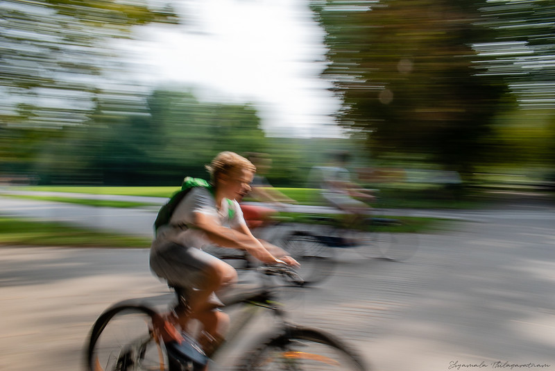 Ljubljana is very safe - except for its cyclists
