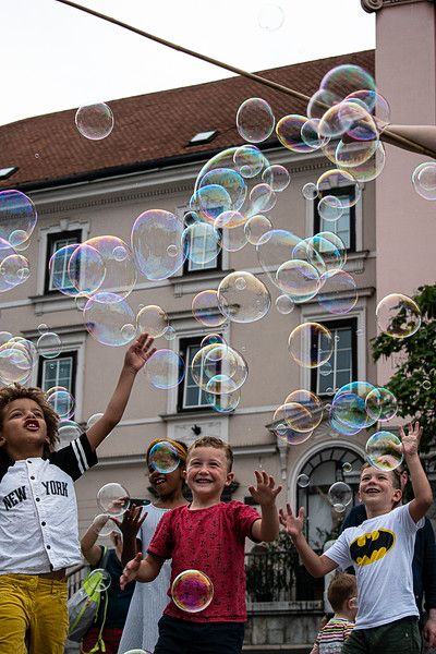 Children - don't burst their bubbles