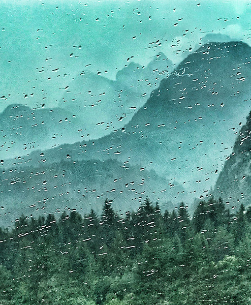 A rainy welcome to Kranjska Gora