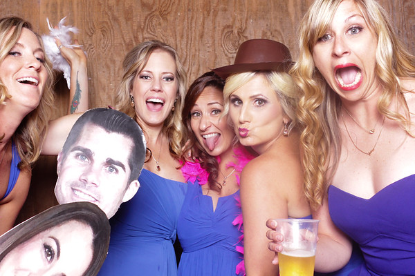 Courtney+Jordan ~ Wedding Photobooth