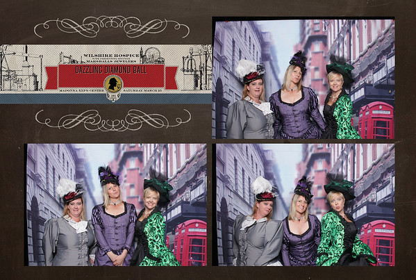 Dazzling Diamonds Ball '17 Photobooth