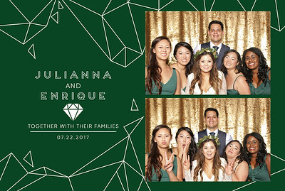 Julianna+Enrique ~ Photobooth!