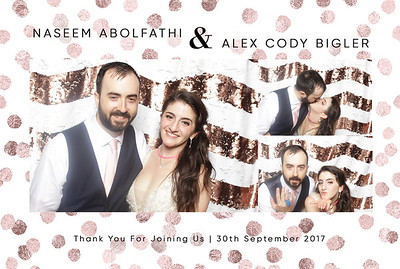 Naseem+Alex ~ Photobooth