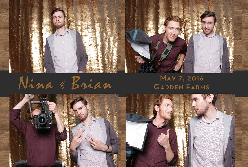 Nina+Brian ~ Photobooth Collages_001