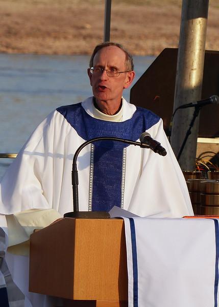 Provincial Superior Ronald A. Mercier, SJ