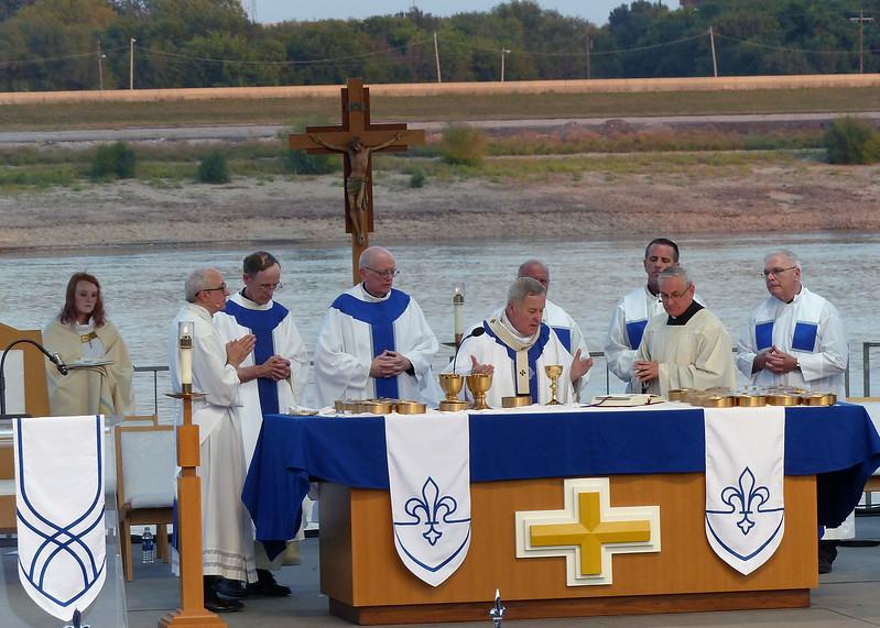 Archbishop Robert Carlson Presides