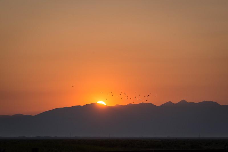 Fall Sunrise over the Sangre de Cristo Range
