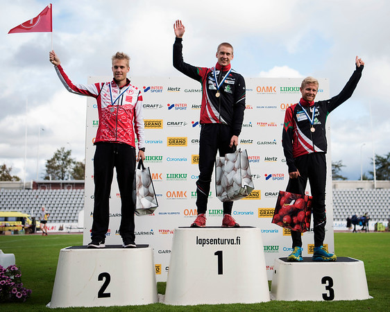 Severi Kymäläinen, Olav Lundanes, Frederic Tranchand