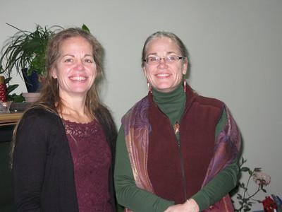 Rose (van Lieshout-Vancrey) Froseth and Marilyn (van Lieshout-Vancrey).