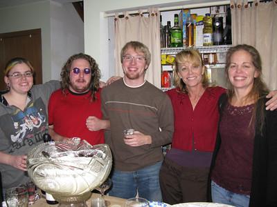 Jenna, Tim, Colin, Betty, and Rose.