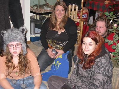 Haley, Kassi, Tim, and Lisa.