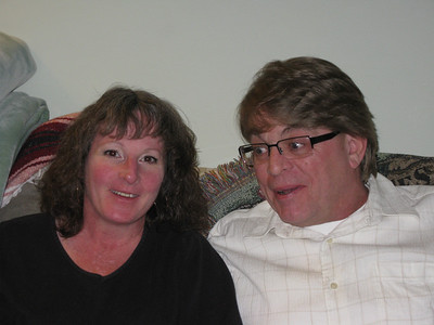 John and Peggy Vancrey. What IS he looking at??